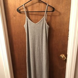 Gap gray knit dress